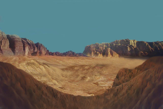 Earth's surface 480 million years ago would have looked like a dry and barren place.