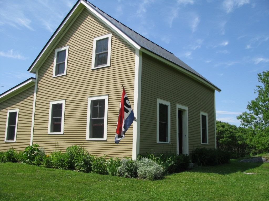 Our Museum & Education Center  is in this  restored Farmhouse.