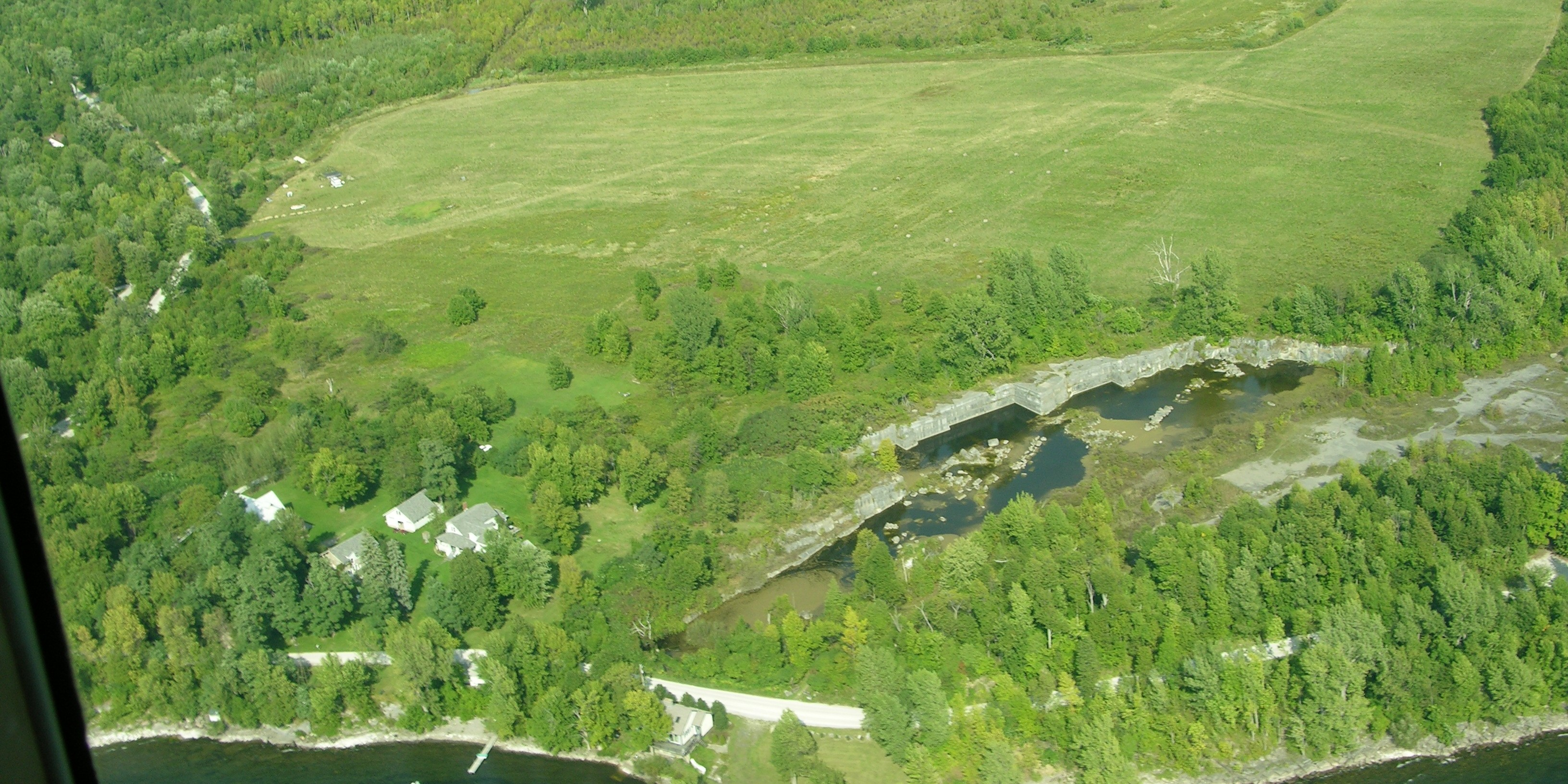 The Fisk Quarry Preserve was once the oldest working quarry in Vermont.